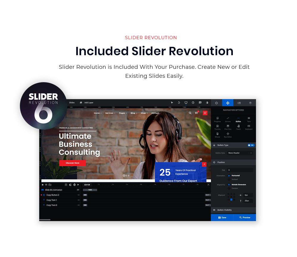 Included Slider Revolution